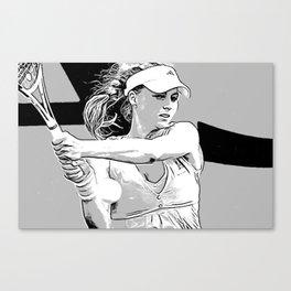 Maria Moves Canvas Print