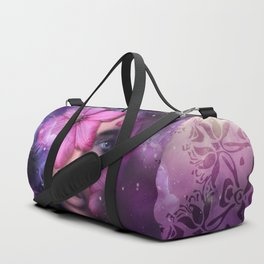 Ode to Ultra Violet Duffle Bag