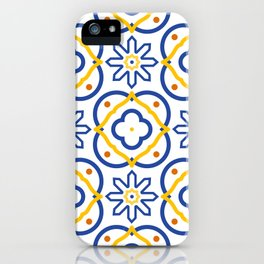 Mediterranean pattern iPhone Case