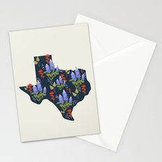 The Lone Star State of Flowers Stationery Cards