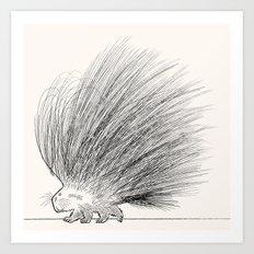 The Porcupine Art Print