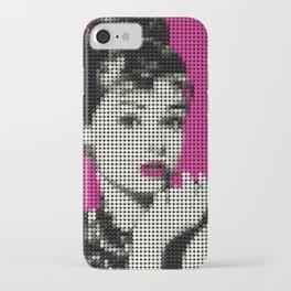 Audrey Hepburn Poster iPhone Case