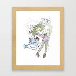 I'm not a plastic bag Framed Art Print