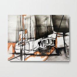 The Trawlers Metal Print