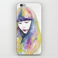 lime iPhone & iPod Skins featuring lime nights by agnes-cecile
