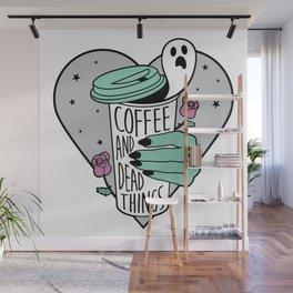 Coffee & Dead Things Wall Mural