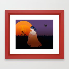 outpost Framed Art Print