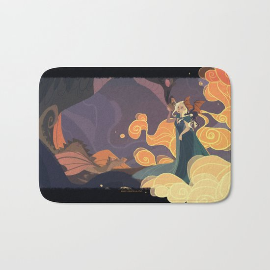 Mother of dragons Bath Mat