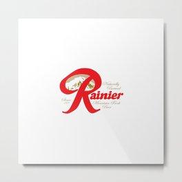 Seattle beer, Rainier, for drinks lovers Metal Print