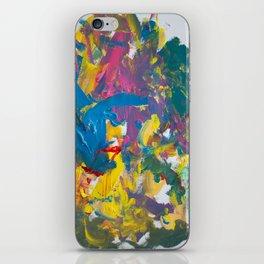 abstratos Azuis elo iPhone Skin