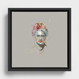Frida Kahlo (3) Framed Canvas