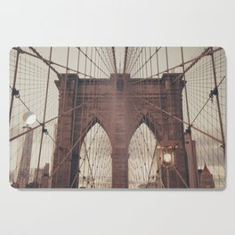Moody Brooklyn Bridge Cutting Board