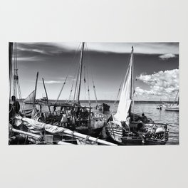 Dhow Zanzibar Indian Ocean Rug