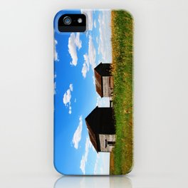 Barns on the Canadian Prairie iPhone Case