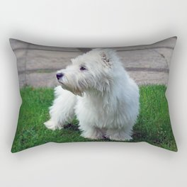 Westie Rectangular Pillow
