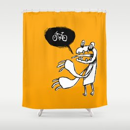 Grrr Shower Curtain