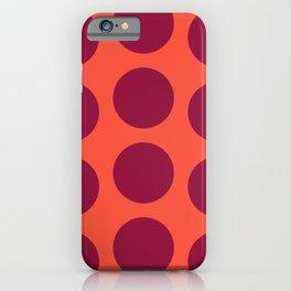 Hostel ceramic tile pattern iPhone Case