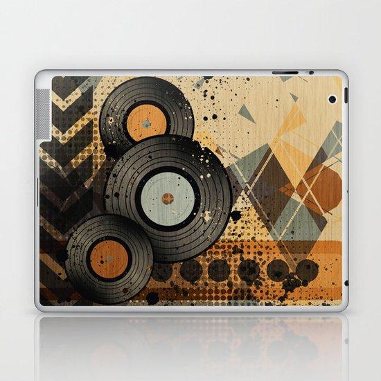 Retro Vinyl. Laptop & iPad Skin