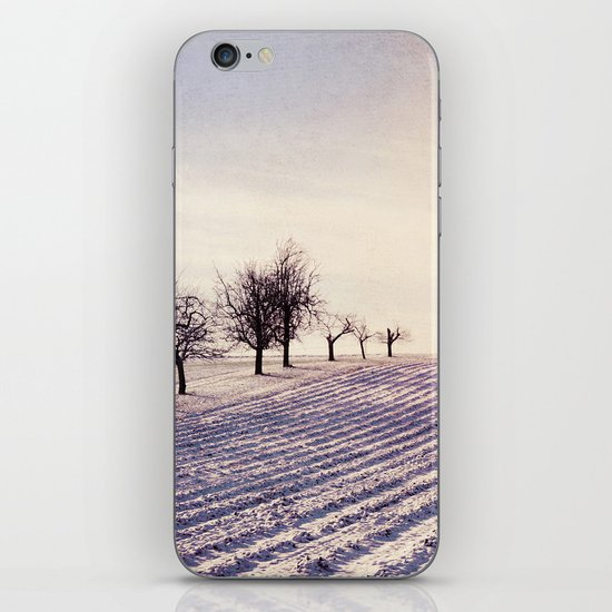 Winter Field 3 iPhone & iPod Skin