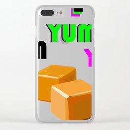 Yum Yum Yum Clear iPhone Case