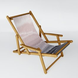 WITHIN THE TIDES BLACK SAND BEACH by Monika Strigel Sling Chair