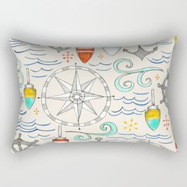 nautical Rectangular Pillow