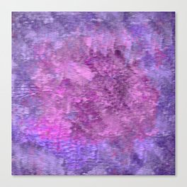 Pink and purple rough texture Canvas Print