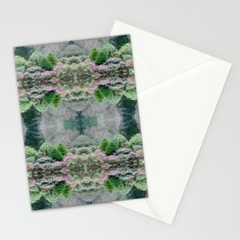 Forest Gardens Pattern Stationery Cards