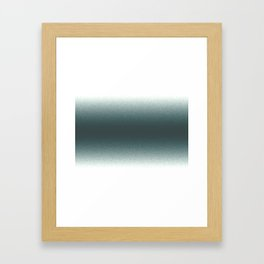 Dark Emerald N1 Framed Art Print
