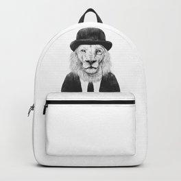 Sir lion Backpack