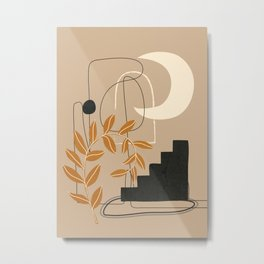 Abstract Shapes 05 Metal Print