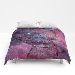 Gorgeous Groovy Galaxy Gal Comforters