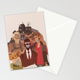what spy hates the most Stationery Cards
