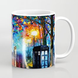 STARRY NIGHT TARDIS Coffee Mug