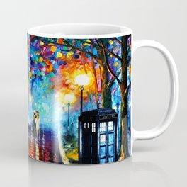 STARRY NIGHT TARDIS Coffee Mug