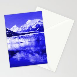 Glacier Bay Blue Stationery Cards