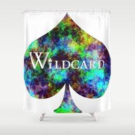 Wildcard Rainbow Haze Shower Curtain