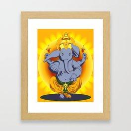 Max Ganesha Framed Art Print
