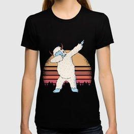 Yeti Dabbing T-shirt