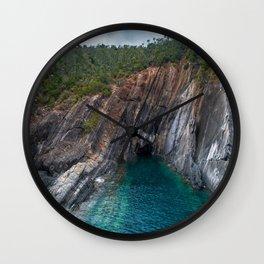 Barcode Rock Wall Clock