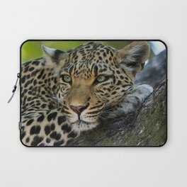 Aqua_Leopard_20180101_by_JAMColorsSpecial Laptop Sleeve