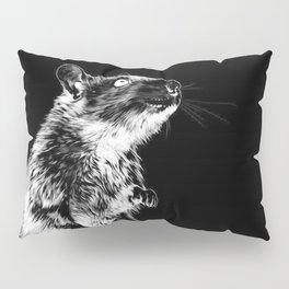 Rat | Spirit animal | Year of the rat | Wicca | Rat lovers | Rat Club Pillow Sham
