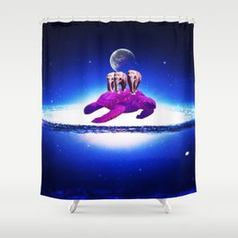 Earth dream Shower Curtain