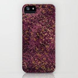 wine moon iPhone Case