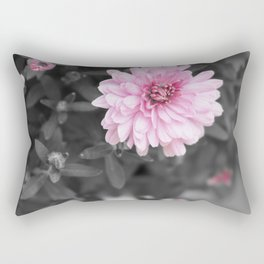 Pink Chrysanthemum Rectangular Pillow