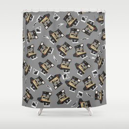 Polaroid Sun 600 Shower Curtain