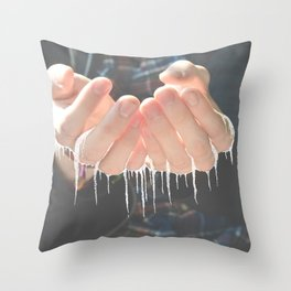 She Spoke Words That Would Melt In Your Hands   Throw Pillow