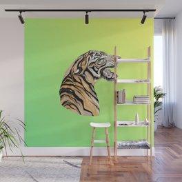 Tiger Totem Wall Mural