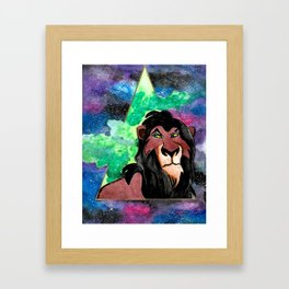 Scar, be prepared Framed Art Print