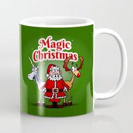Magic Christmas with a unicorn Coffee Mug